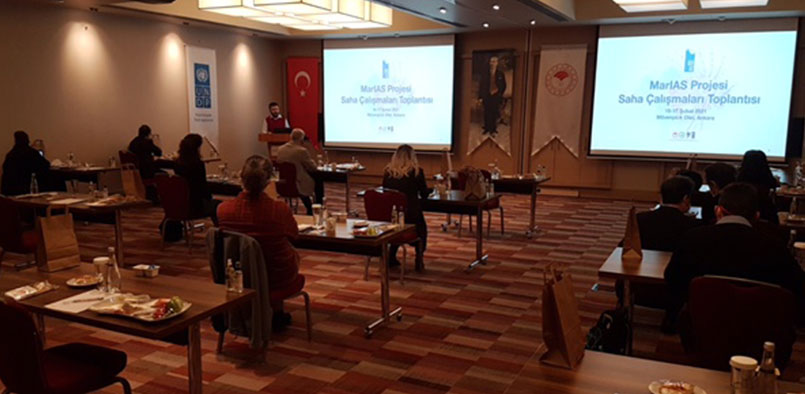 The Evaluation Meeting of Field Studies Results realized in Project Pilot Sites was held on 16,17 February 2021 in Ankara